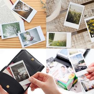 Image 2 - Fujifilm Instax Mini Films 40 sztuk + Instax Mini 8 Instax Mini 9 natychmiastowy aparat fotograficzny PU skórzany pokrowiec pokrowiec + zestaw akcesoriów
