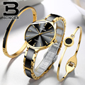 Zwitserland BINGER Luxe Vrouwen Horloge Merk Crystal Fashion Armband Horloges Dames Vrouwen horloges Relogio Feminino B-11852