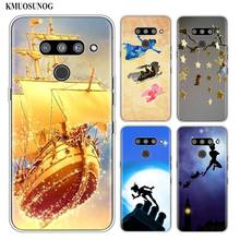 Silicone Soft Phone Case Peter Pan wendy Tinkerbell for LG K50 K40 Q8 Q7 Q6 V50 V40 V30 V20 G8 G7 G6 G5 ThinQ Mini Cover