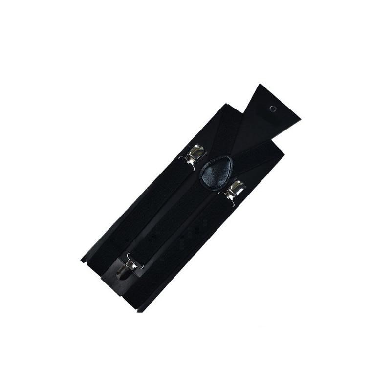 Для женщин и мужчин s рубашка для отдыха Подвязки подтяжки для рубашки эластичные мужские рубашки подтяжки держатель подвязки бизнес - Цвет: Черный