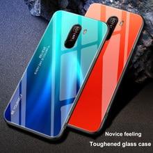 ciciber For Xiaomi MI 9 8 6X A2 MIX 2 2S PocoPhone F1 Cover Phone Cases Redmi Note 7 6 5 Pro 5Plus Glass Case Funda Coque