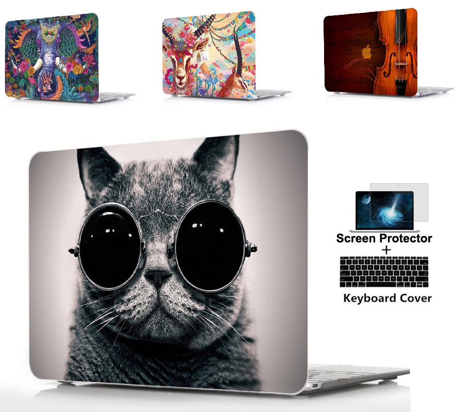 3IN1 laptop Hard Shell Case Keyboard Cover For font b Apple b font font b Macbook
