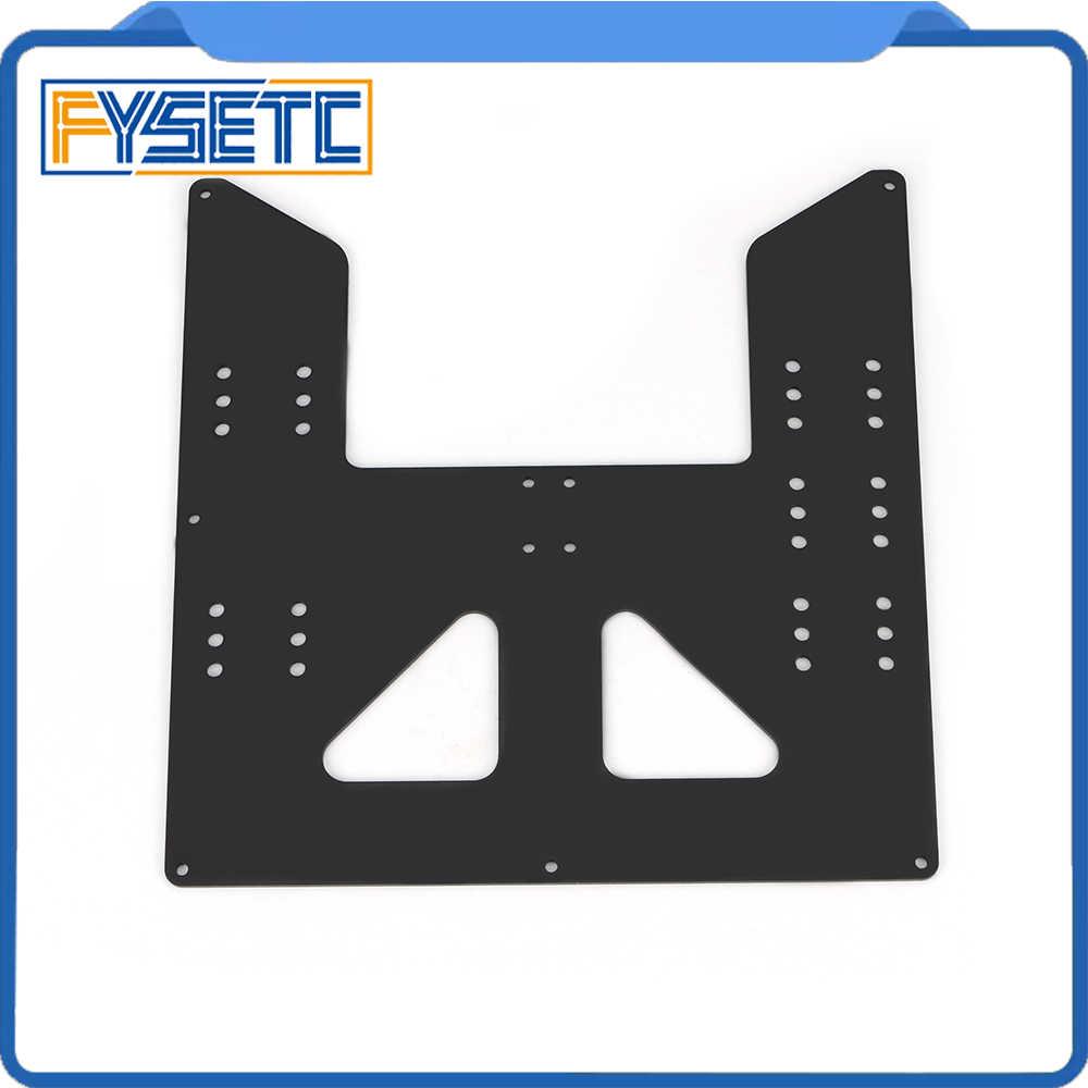 黒アップグレード Y キャリッジアルマイト用のアルミ板 A8 温床サポート Prusa I3 Anet A8 3D プリンタ
