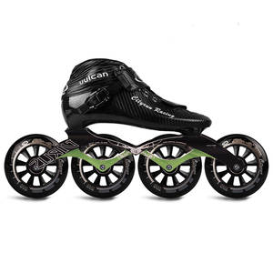 JK Cityrun Speed Inline Roller Skates Professional Competition Skating Patines Carbon Fiber Skating Shoes Rollerblade SH53