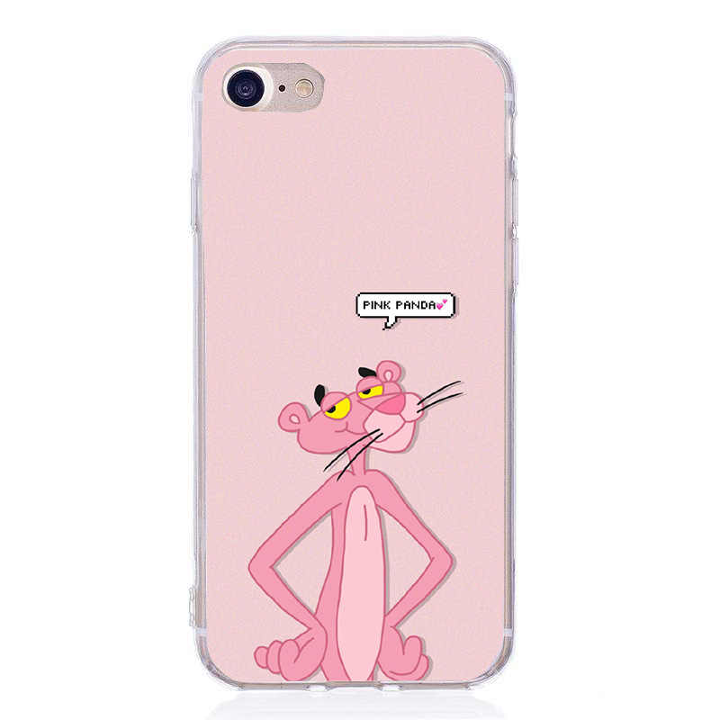 Pink Panther for Phone Cover iphone 5s SE 5 Soft Silicone Cartoon ...