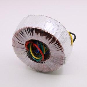 Image 3 - 300 W אודיו טבעתי שנאי פלט: 32V 0 32V, 12V 0V 12V, 0 10 V באיכות גבוהה טהור נחושת שנאי חשמל