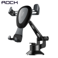 High Quality Gravity Metal Car Phone Holder Linkage Aluminum Alloy Adjustable Mobile Phone Holder For Car