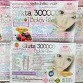 Free Shipping 6 BOX SOFT GEL GLUTA 300000+COLLAGEN WHITENING SKIN ANTI OXIDANT ANTI AGING