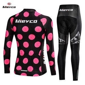 Image 2 - 2020 kobiet wiosna długa odzież rowerowa rower MTB nosić Ropa Ciclismo Lover Style Race szybkoschnący cykl ubrania krótkie spodnie na szelkach