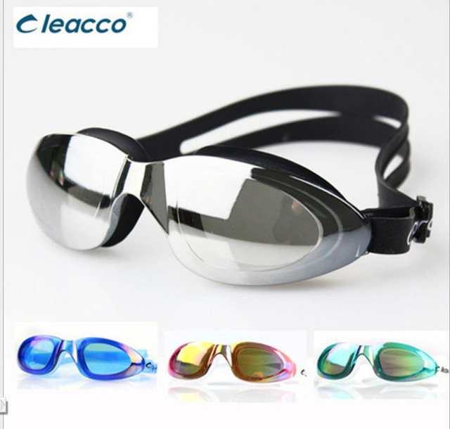 Men Women Cool plating force fog goggles swimming goggles swimming waterproof big box glasses MC800