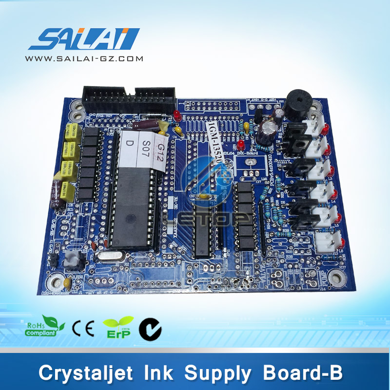 High Quality!!crystaljet printer 4000 series printer ink supply pressure board for crystaljet 3000 series printer infiniti ink supply&heating board for 8230b 8320c 3360ec 8250sl 8250b 8250c main board printer part pcb
