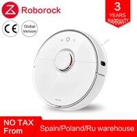 Глобальный Roborock робот пылесос 2 s50 s55 для Xiaomi mi дома mi Цзя приложение Smart очистки мокрой уборки роботизированной Беспроводной Управление