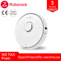 Global Roborock Robot Vacuum Cleaner 2 s50 s55 for Xiaomi Mi Home MIJIA APP Smart Cleaning Wet Mopping Robotic Wireless Control