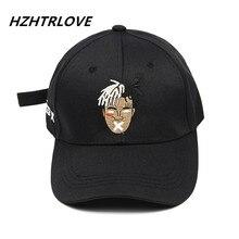 Высокое качество хлопок певица xxxtentacion дреды Snapback кепки для мужчин женщин хип-хоп папа шляпа бейсбольная Кепка Bone Garros