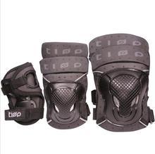 6 ピース/セット保護 patins セット膝肘パッド手首プロテクタースケート保護スクーターサイクリングローラースケート