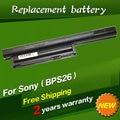 Jigu 4400 mah 11.1 v batería del ordenador portátil para sony vaio vgp-bps26 vgp-bps26a para vaio sve14111 sve14115 sve14116 sve15111 sve141100c