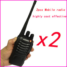 2pcs hf Portable Sets cb Radio Walkie Talkie Pair For Police Equipment Scanner Bao Feng baofeng bf 888s Walky Talky Professional цены