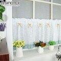 Занавес для вышивания окон на заказ  Затемняющая кофейная панель  занавеска для кухонного шкафа  шт./лот