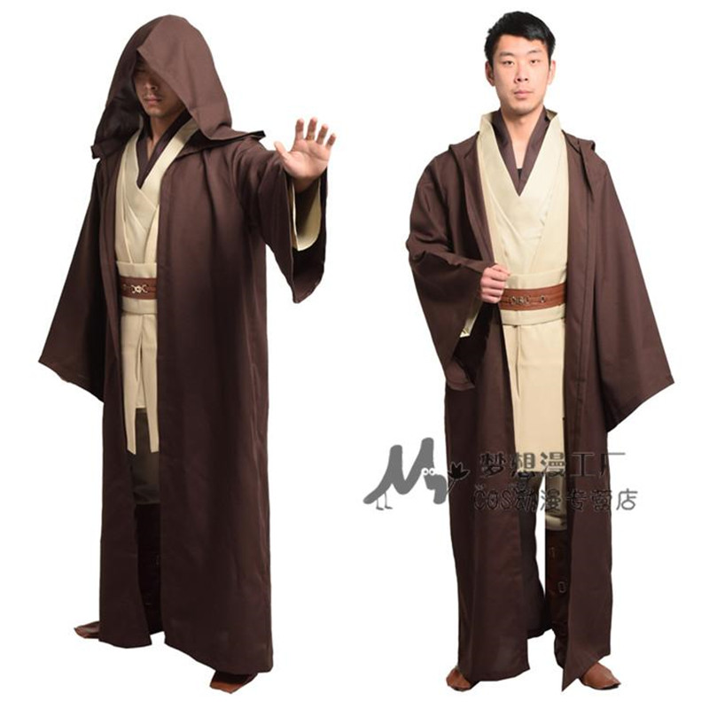 Star Wars Movie Deluxe Sith Hooded Long Robe Mens Halloween Costume Accessory