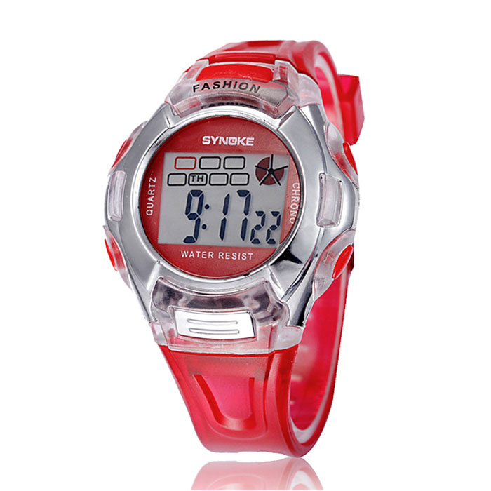 Dutiful #5001 1pc Kids Sports Digital Led Watches Wrist Watch Alarm Date Rubber Wrist Dropshipping New Arrival Freeshipping Hot Sales Relieving Heat And Sunstroke Children's Watches