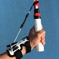 Entrenador de tenis profesional práctica de servir la máquina de pelota herramienta de entrenamiento deportivo autoestudio correcta accesorios de postura de muñeca