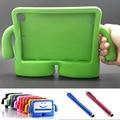 ¡ CALIENTE! niño de la manera de eva a prueba de golpes cubierta del caso para el ipad mini 1 2 3 4 para apple ipad mini4 silicón de la historieta de eva caso