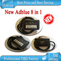 A+ quality 100% working 8 in 1 Adblue emulator 8in1 with programmer /Truck Remove full chip