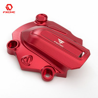 FXCNC Motorcycle Aluminum Water Pump Cover Fit For Ducati Monster 821 2014 2016 2015 Motorcycle Water Pump Cover Red