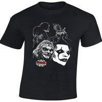 Men S Novelty Horrible Skull T Shirts Slipknot Shirts Rock Metal Band Excellent Quality 100 Cotton