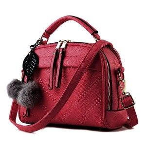 Image 5 - Briggs 패션 품질 가죽 여성 탑 핸들 가방 작은 여성 crossbody 가방 귀여운 어깨 메신저 가방 숙 녀 손 가방에 대 한