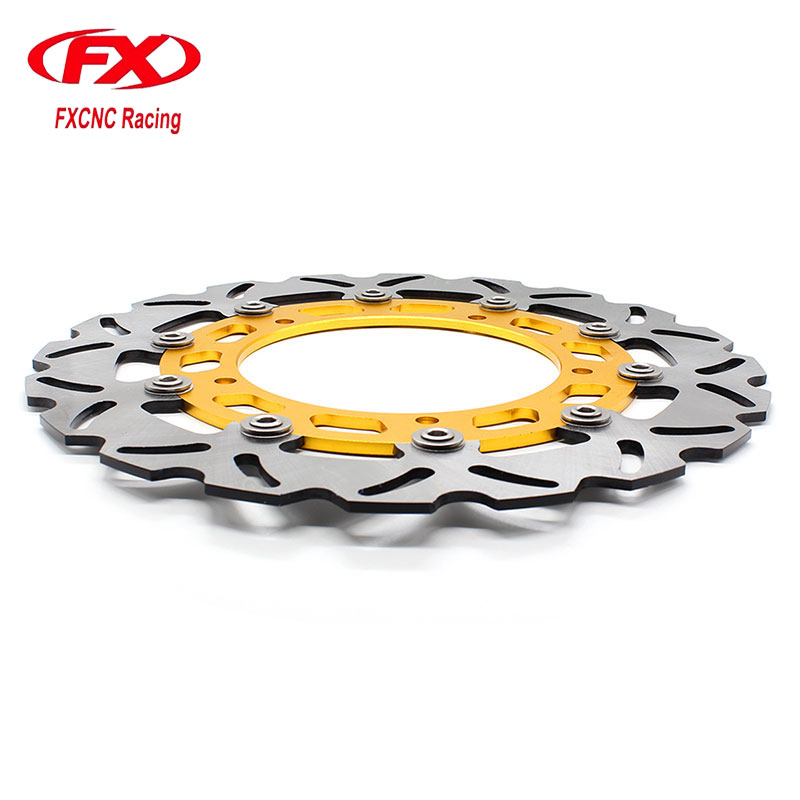 FX CNCMotorcycle 300mm Floating Front Brake Disc Disks Rotor For YAMAHA YZF R15 2015 Motorbike Front Brake Disc Disks Rotor 320mm floating motorcycle brake disc disks rotor for ktm duke 125 200 390 duke 2013 2016 motorbike front brake disc disks