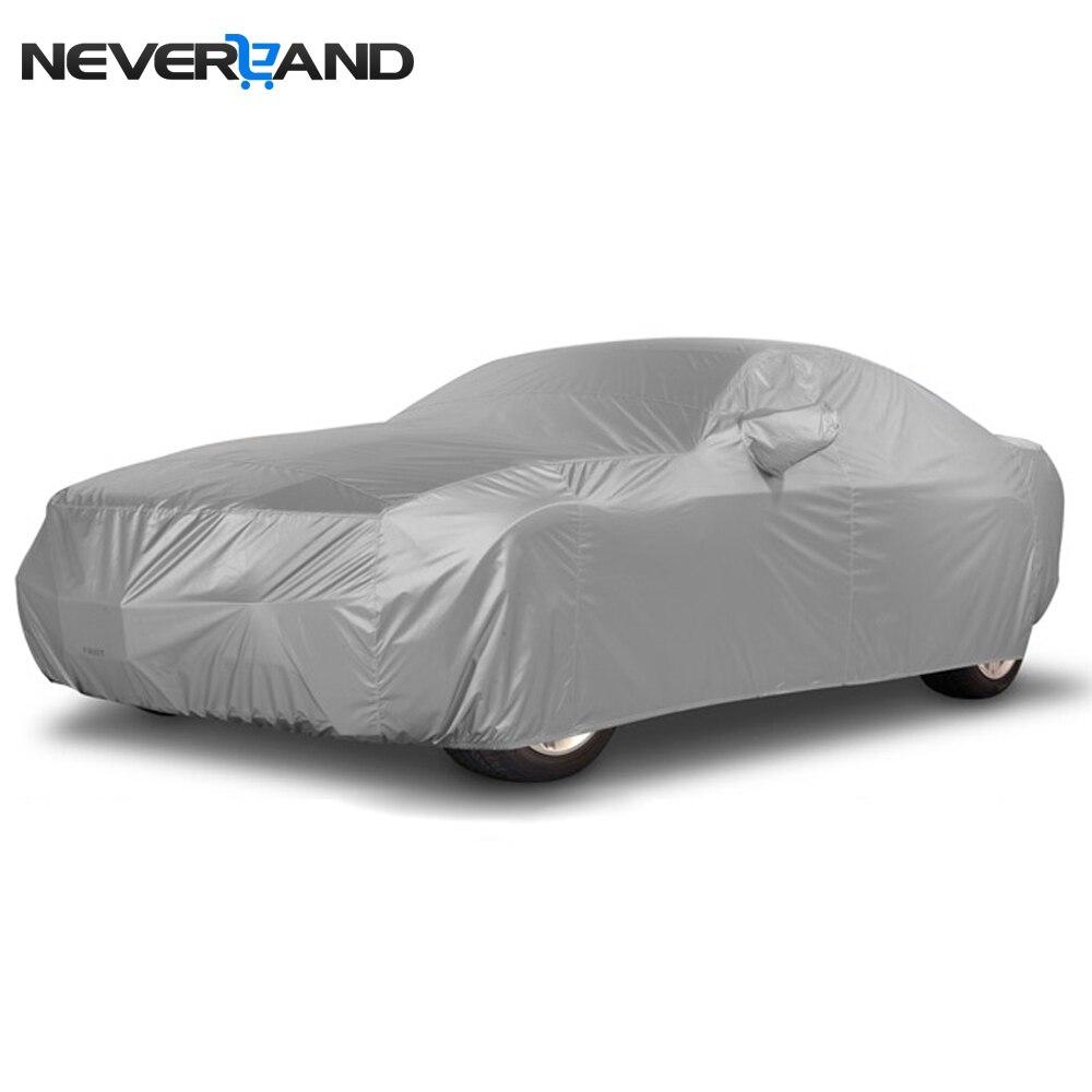 NIMMERLAND Indoor Outdoor-Car-Cover Sonne UV Regen Schnee Staub Beständig Schutz Größe S M L XL Auto Abdeckungen