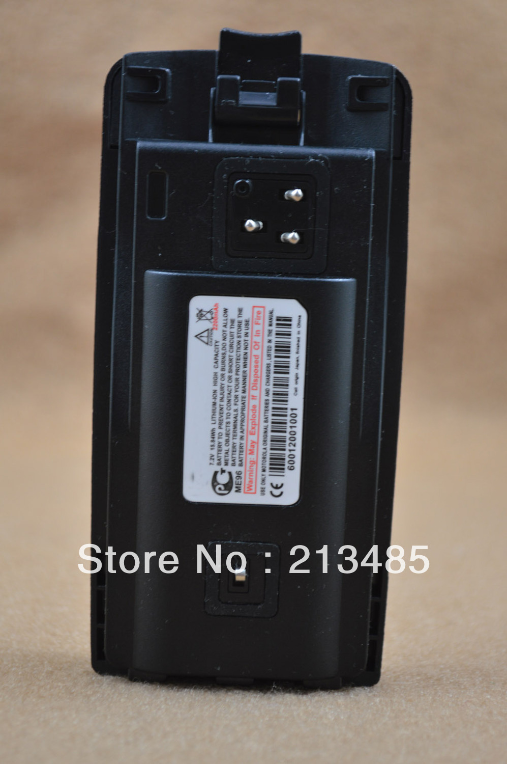 RLN6305 DC7.2V 2200mAh LITHIUM-ION Battery For Motorola XTNi XTNi XTNiD,Mag One A10,Mag One A12, CP110,CP1800,CP1100