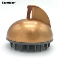 Befortune Massage Waterproof Electric Scalp Massager Stimulate Vibrator Shower Bath Rubber Head Massage Comb Brush BF6002
