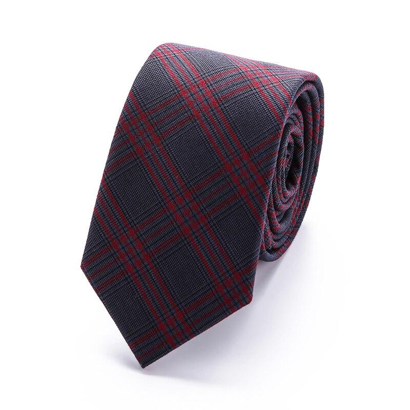 2018 Modemerk slanke 6 cm stropdas smalle katoenen stropdas voor - Kledingaccessoires - Foto 5