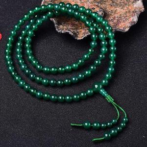 Image 2 - Tasarımcı tibet Mala budist yeşil Tara tespihler tibet 108 boncuk Mala budist tespih boncuk