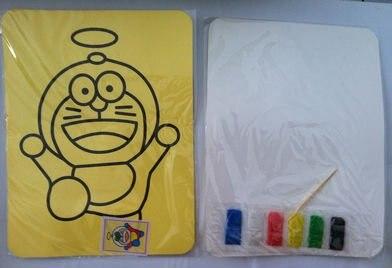 """100 шт./лот, игрушки """"Сделай своими руками"""", раскраска на основе песчаной живописи комплект для детей 21*15 cm смешанные конструкции"""
