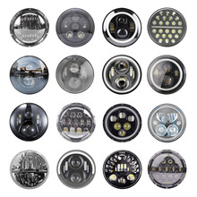 Led-Headlight Headlamp DRL Halo-Angle-Eyes Lada Jeep Wrangler Suzuki Samurai Hi/low-Beam