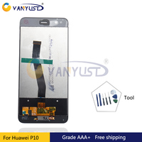 100 Tested Grade AAA LCD Screen Touch Digitizer Assembly For Huawei P10 P 10 P10 Lite