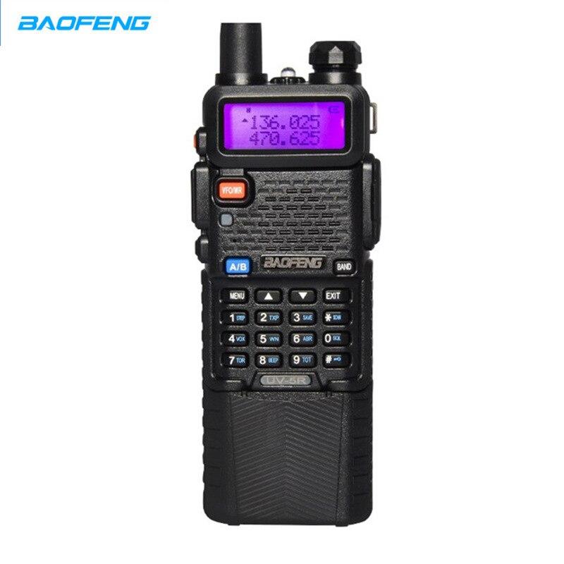 Baofeng UV 5R talkie-walkie 3800 mAh version de batterie double bande Radio UV-5R bidirectionnelle Radio talkie-walkie portable
