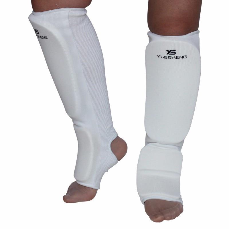 Sports Shin Guards Kick Boxing Protector Taekwondo EVA Boxing Leggings Ankle Shin Karate MMA Muay Thai Shin Pads Protector