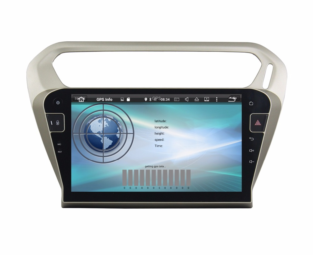 """Flash Deal 10.1"""" Octa Core Android 9.0 8 core 64G ROM 4G RAM Car DVD Player for Peugeot PG 301 2013-2016 Citroen Elysee GPS Radio 5"""