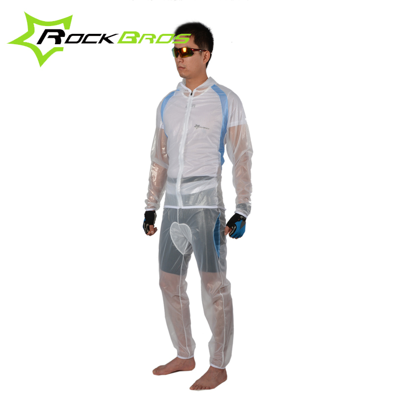 RockBros Multifunction Bicycle Climing Fishing Rainproof Jersey Pants MTB Bike Windcoat Waterproof Cycling Suits Clothing