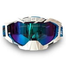 Новая Мода Мотоцикл Очки Анти-искажение пыли Мотокросс Очки Ветрозащитный Очки Лыжные Очки