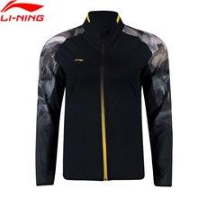 Li-Ning, Мужская серия бадминтон, куртки, обычная посадка, 92% полиэстер, 8% спандекс, национальная команда, подкладка, спортивные куртки, AYYN013 MWJ2528