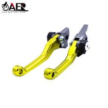 JAER Pivot Foldable Clutch Brake Lever For Suzuki RM85 2005 2017 RM125 RM250 2004 2008