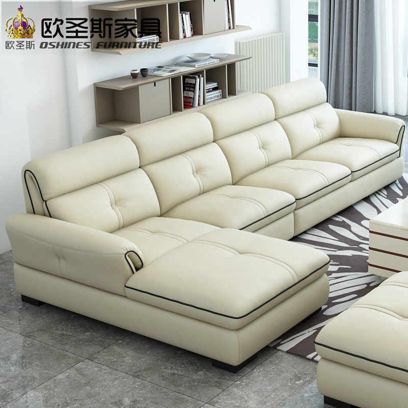 2019 nouveau modèle Design moderne Style sectionnel petite maison salon  mexique Mini canapé en cuir avec Table centrale OCS-638