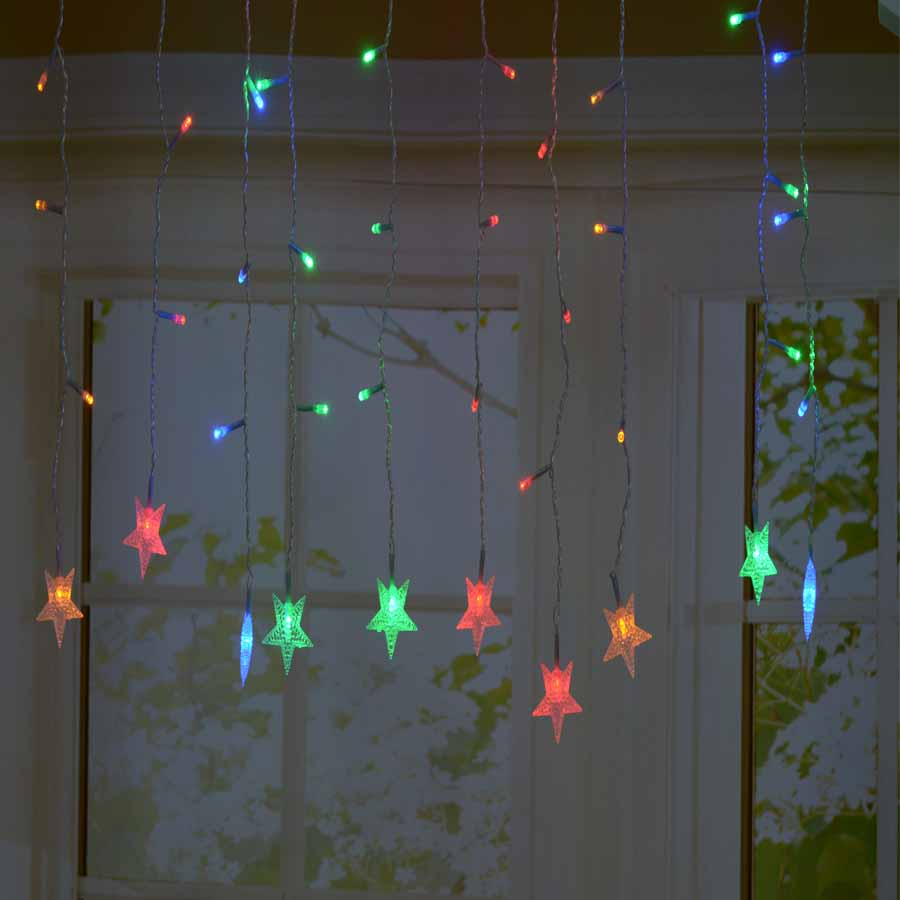LMID LED Crutain String Christmas Lights Outdoor Night Fairy Light Holiday Party Decoration luminarias Garland Luces LED Navidad