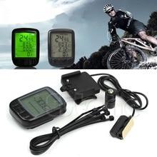 Waterproof Cycle Bicycle Bike LCD Computer Speedometer Odometer With Backlight