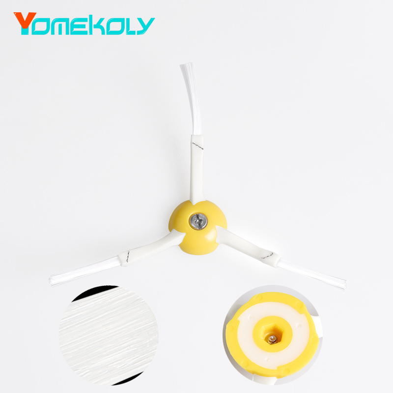 Side Brush 3-armed for iRobot Roomba 800 900 Series 870 880 980 Robotic Vacuum Parts Cleaner Accessories Decoration For Home потребительские товары other 3 irobot roomba 800 880 870 47370